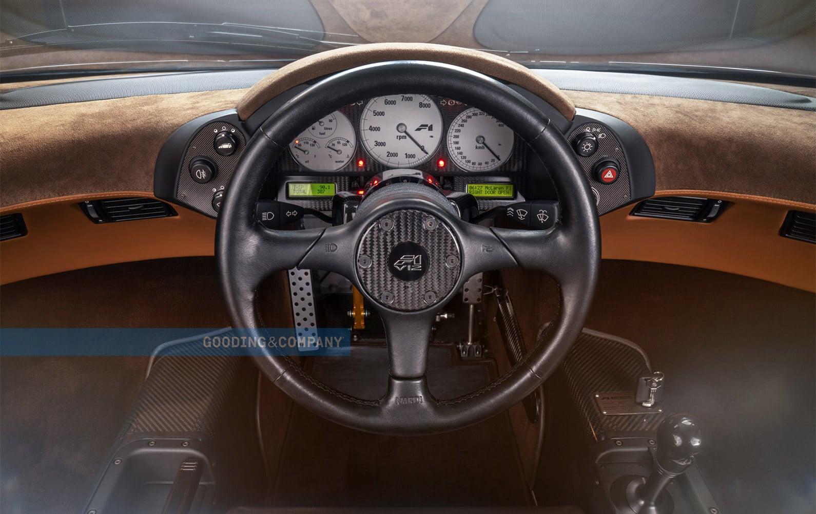 Intérieur McLaren F1