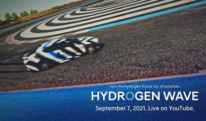 Hyundai sportive hydrogene