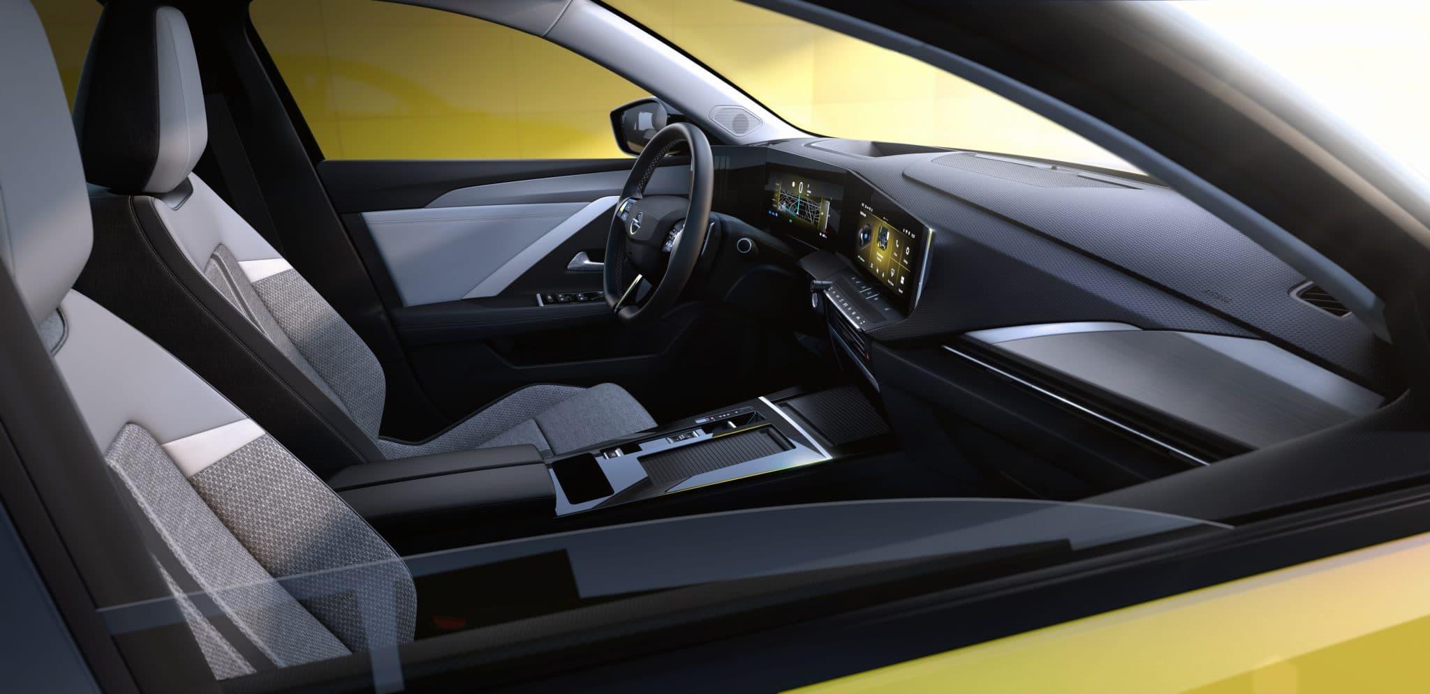 intérieur Opel Astra 2021